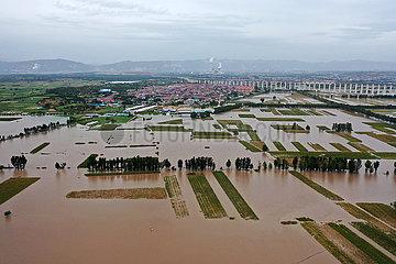 (Spotnachrichten) China-Shanxi-Hejin-Hochwasser-Kontrolle (CN) (Spotnachrichten) China-Shanxi-Hejin-Hochwasser-Kontrolle (CN) (Spot News) China-Shanxi-Hejin-Hochwasser-Kontrolle (CN)