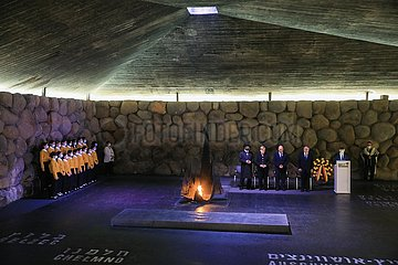 Midest-Jerusalem-Yad Vashem-Deutschland-Angela Merkel-Besuch