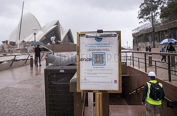 Australien-Sydney-Covid-19- 'Freiheitstag'