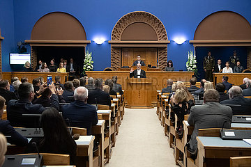 Estland-Tallinn-neue Präsident-Einweihung