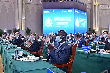 (COP15) China-Yunnan-Kunming-COP15-Führer-Summit (CN)