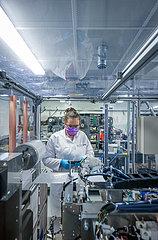 MEET Batterieforschungszentrum  Westfaelische Wilhelms-Universitaet WWU  Muenster  Nordrhein-Westfalen  Deutschland  Europa