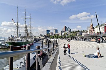 Hamburger Hafenrand-Promenade