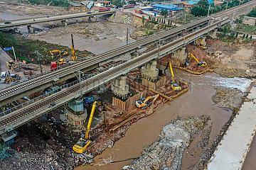 CHINA-SHANXI-QIXIAN-RAILWAY-REPAIR (CN)