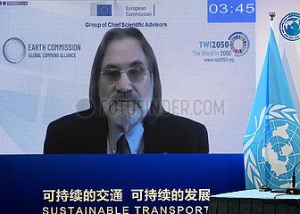 China-Beijing-2nd UN Globaler nachhaltiger Transportkonferenz-Forum (CN)
