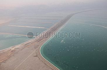 Israel-tote Meereslandschaft