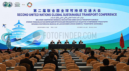 CHINA-BEIJING-2ND UN GLOBAL SUSTAINABLE TRANSPORT CONFERENCE-CLOSING (CN)