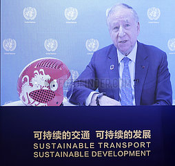 CHINA-BEIJING-2ND UN GLOBAL SUSTAINABLE TRANSPORT CONFERENCE-THEMATIC SESSION (CN)