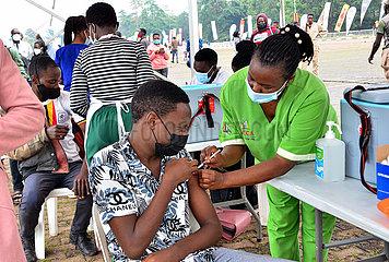Uganda-Kampala-Covid-19-Mass-Impfung
