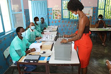 CAPE VERDE-PRAIA-PRESIDENTIAL ELECTION