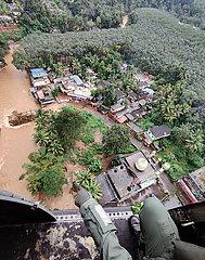 Indien-Kerala-Flut