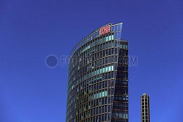 Berlin  Deutschland  Bahn-Tower am Potsdamer Platz