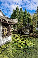 Chinesischer Garten  Botanischer Garten  Ruhr-Universitaet Bochum  Nordrhein-Westfalen  Deutschland