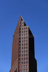 Berlin  Deutschland  Kollhoff-Tower am Potsdamer Platz