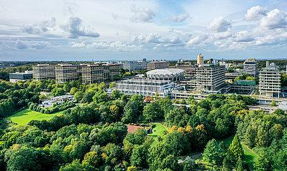 Ruhr-Universitaet Bochum  Botanischer Garten  Bochum  Nordrhein-Westfalen  Deutschland