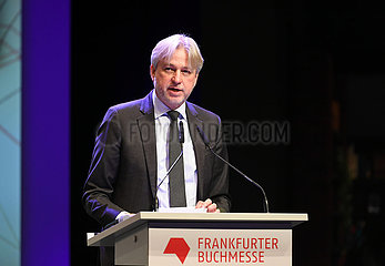 GERMANY-FRANKFURT-BOOK FAIR-OPENING