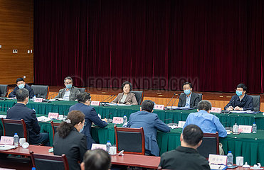 China-Peking-Sun Chunlan-Inspektion (CN)
