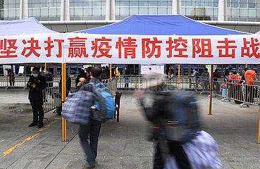 CHINA-GANSU-LANZHOU-COVID-19-NEW CASES (CN)
