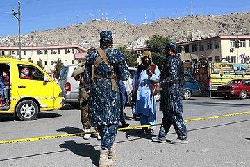 Afghanistan-Kabul-Explosion