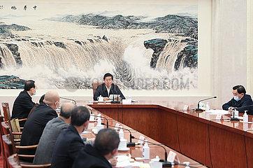 CHINA-BEIJING-LI ZHANSHU-LAWMAKERS-SYMPOSIUM (CN)