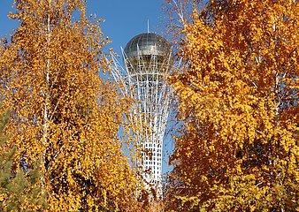KAZAKHSTAN-NUR-SULTAN-AUTUMN-SCENERY