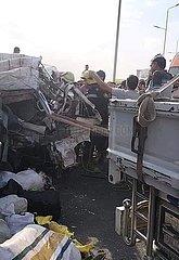 EGYPT-CAIRO-CAR CRASH