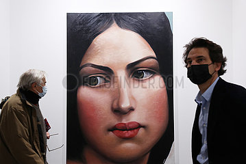 Frankreich-Paris-International Contemporary Art Fair