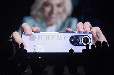 Österreich-Wien-Huawei-neue Produkte