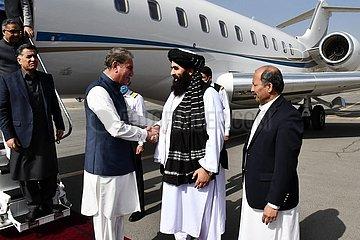 Afghanistan-Kabul-pakistanischer FM-Besuch