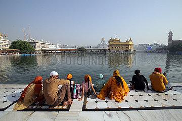 Indien-Punjab-Amritsar-Sikh-Guru-Geburtstag-Jubiläum
