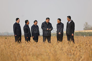 China-Shandong-XI-Jinping-ökologisches Schutz-Entwicklung-Symposium (CN)
