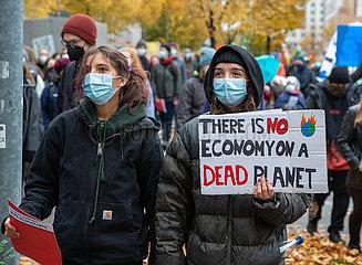 Ihr lasst uns keine Wahl: Zentraler Klimastreik in Berlin