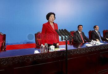 China-Xi'an-Sun Chunlan-Eröffnungszeremonie (CN)