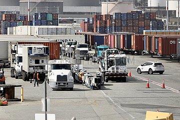 U.S.-LOS ANGELES-PORT