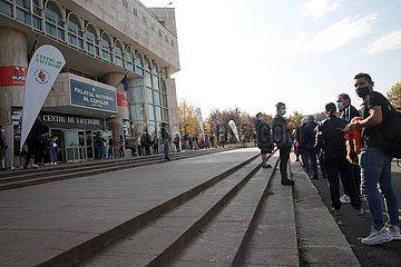 Rumänien-Bukarest-Covid-19-verbindliche Maßnahmen