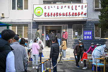 China-Inner-Mongolei-Hohhot-Covid-19-Tests (CN)