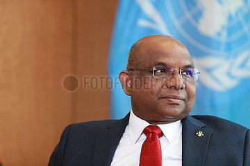 UN-UNGA-Präsidenten-Interview-China