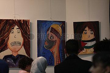 MIDEAST-GAZA CITY-FESTIVAL