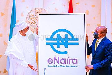 NIGERIA-ABUJA-DIGITAL CURRENCY-ENAIRA-LAUNCH
