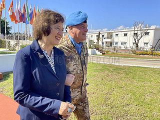 LEBANON-NAQOURA-UNIFIL-UNITED NATIONS DAY-CEREMONY