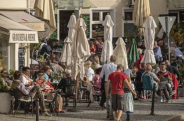 Bad Toelz  Marktstrasse  20. Oktober 2021