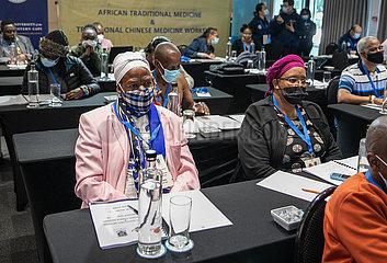 Südafrika-Kapstadt-chinesische traditionelle Medizin-Workshop