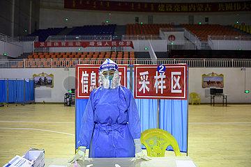 China-Inner-Mongolei-Ejina-Banner-Covid-19-Home-Quarantäne (CN)