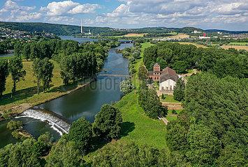 Wasserwerk Volmarstein  Wetter an der Ruhr  Nordrhein-Westfalen  Deutschland