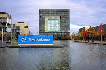 ThyssenKrupp  Hauptverwaltung  Essen  Nordrhein-Westfalen  Deutschland