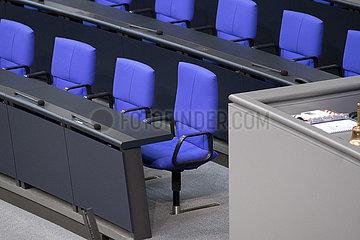 Konstituierende Sitzung Bundestag