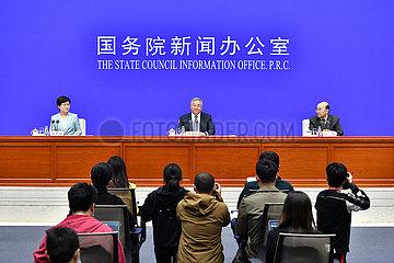 China-Peking-Klima-Wechsel-Weiß-Papier (CN)